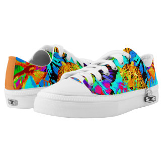 Pop Art Nature Top Shoes, US Men 4 / US Women 6 Low-Top Sneakers