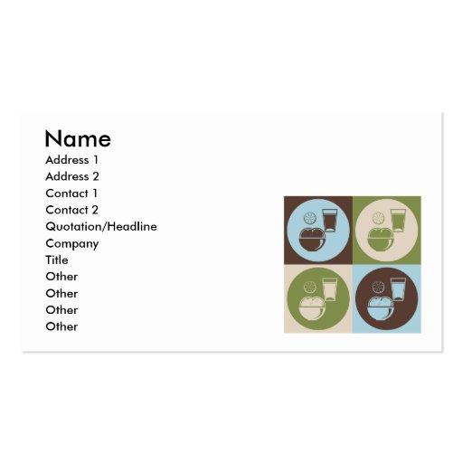 Pop Art Nutrition Business Cards