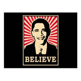 Pop Art Obama Postcard