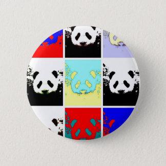 Pop Art Panda 2 Inch Round Button