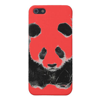 Pop Art Panda  Cover For iPhone 5/5S