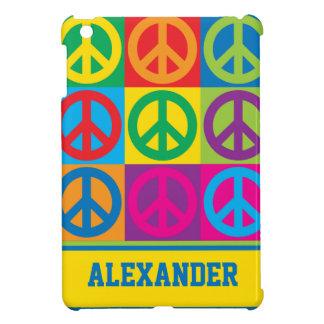Pop Art Peace Symbols iPad Mini Covers
