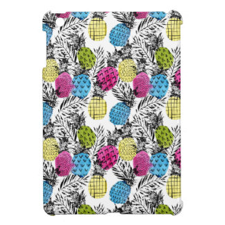 Pop Art Pineapples And Palm Leaves iPad Mini Cover