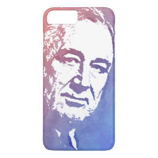 Pop Art Portrait of FDR in Red and Blue iPhone 7 Plus Case