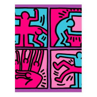 pop art postcard