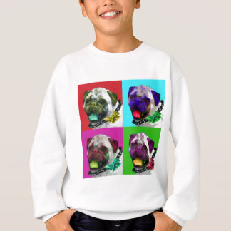 Pop Art Pug Sweatshirt