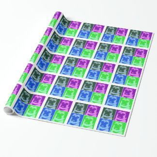 Pop Art Pug Wrapping Paper