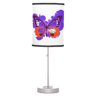 Pop Art Purple Butterfly Lamp