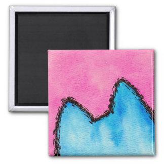Pop Art PussyCat Pink Magnet