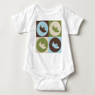 Pop Art Rafting Baby Bodysuit