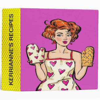 Pop Art Recipe Binder - See Back