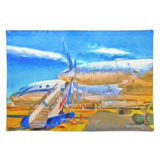 Pop Art Russian Airliner Placemat