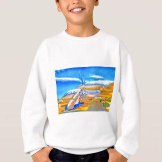Pop Art Russian Airliner Sweatshirt