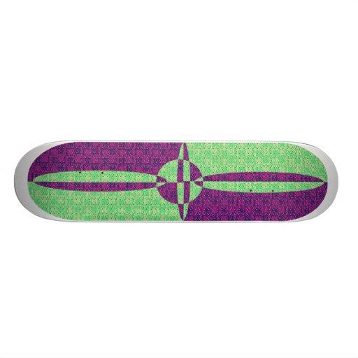 Pop Art Skateboard
