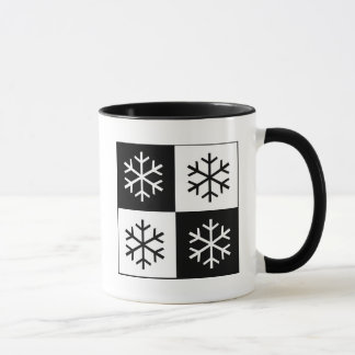 Pop Art Snowflakes Mug