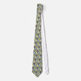 Pop Art Snowmobiling Tie