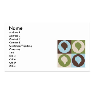 Pop Art Speech Therapy Pack Of Standard Business Cards