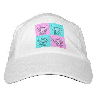 Pop Art Sphynx Kitten Hat
