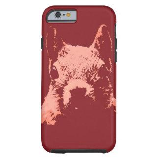 Pop Art Style Squirrel Tough iPhone 6 Case