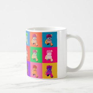 Pop art Teddy Bear White 325 ml Classic White Mug