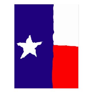 Pop Art Texas State Flag Postcard
