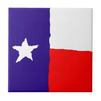 Pop Art Texas State Flag Tile