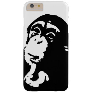 Pop Art Thinking Chimpanzee Barely There iPhone 6 Plus Case