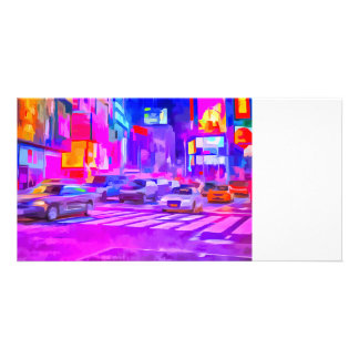 Pop Art Times Square Card