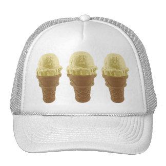 Pop Art Vanilla Ice Cream Cone Trucker Hat