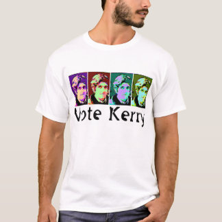 Pop-Art Vote Kerry T-Shirt
