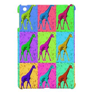 Pop Art Walking Giraffe Panels Cover For The iPad Mini