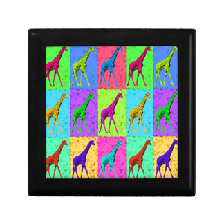 Pop Art Walking Giraffe Panels Gift Box