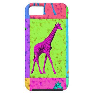 Pop Art Walking Giraffe Panels iPhone 5 Case