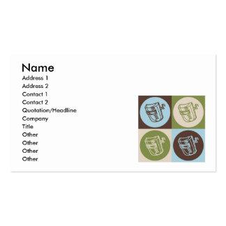 Pop Art Welding Business Card Template