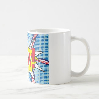 Pop art 'wow' mug