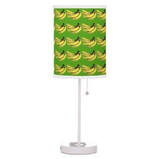 Pop Art Yellow Banana Graphic Table Lamp