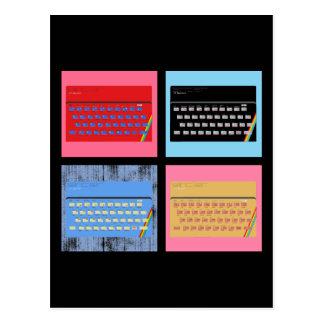 Pop Art ZX Spectrum Post Card