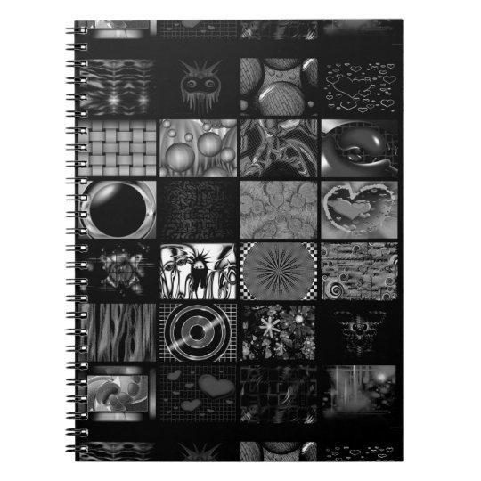 Pop Arts Pattern Notebook
