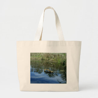 Pop Ash Pond Large Tote Bag