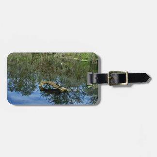 Pop Ash Pond Luggage Tag