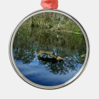 Pop Ash Pond Metal Ornament