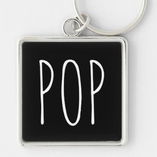 Pop Black Keychain Father's Day
