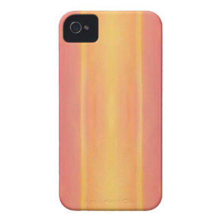 Pop Bright Pink Peach Vertical Pattern iPhone 4 Covers