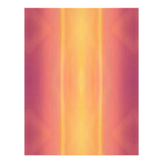 Pop Bright Pink Peach Vertical Pattern Letterhead