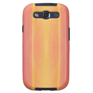 Pop Bright Pink Peach Vertical Pattern Samsung Galaxy S3 Cover