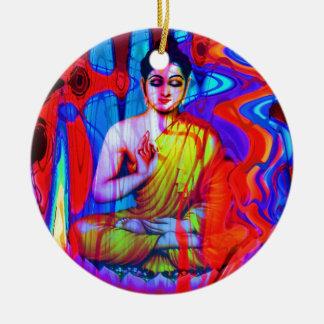 Pop Buddha Ceramic Ornament