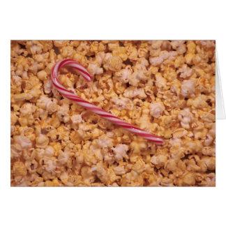 Pop Corn  Candy Card