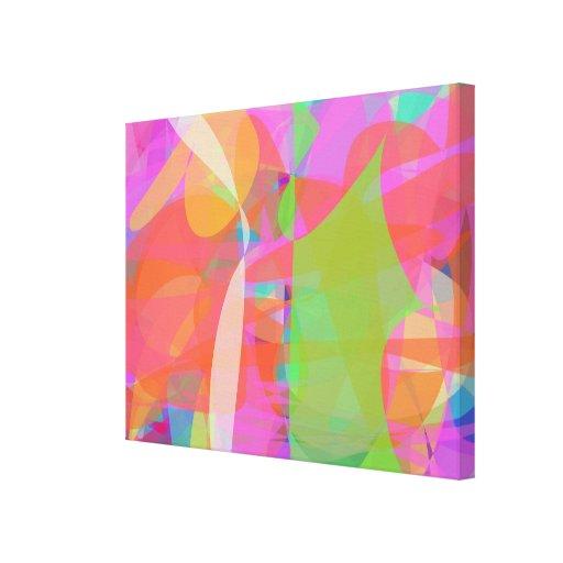 Pop Culture Stretched Canvas Print