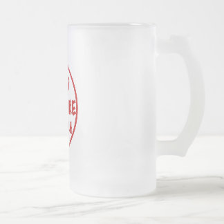 Pop Culture Crunch Frosted Glass Mug