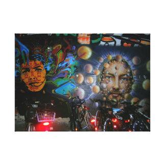 Pop Culture Graffiti Street art, real world art Gallery Wrapped Canvas